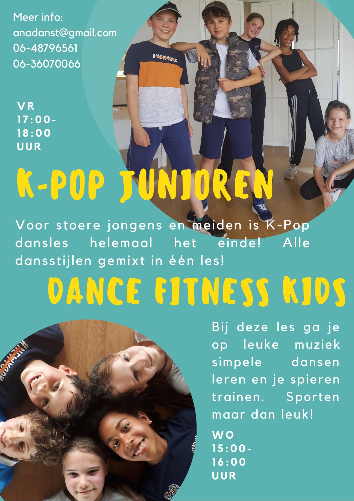 K-Pop Junioren & Dance Fitness Kids